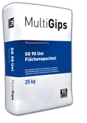 MultiGips SG 90 Uni Flächenspachtel