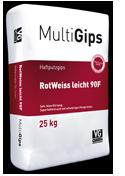 MultiGips RotWeiss licht 90F