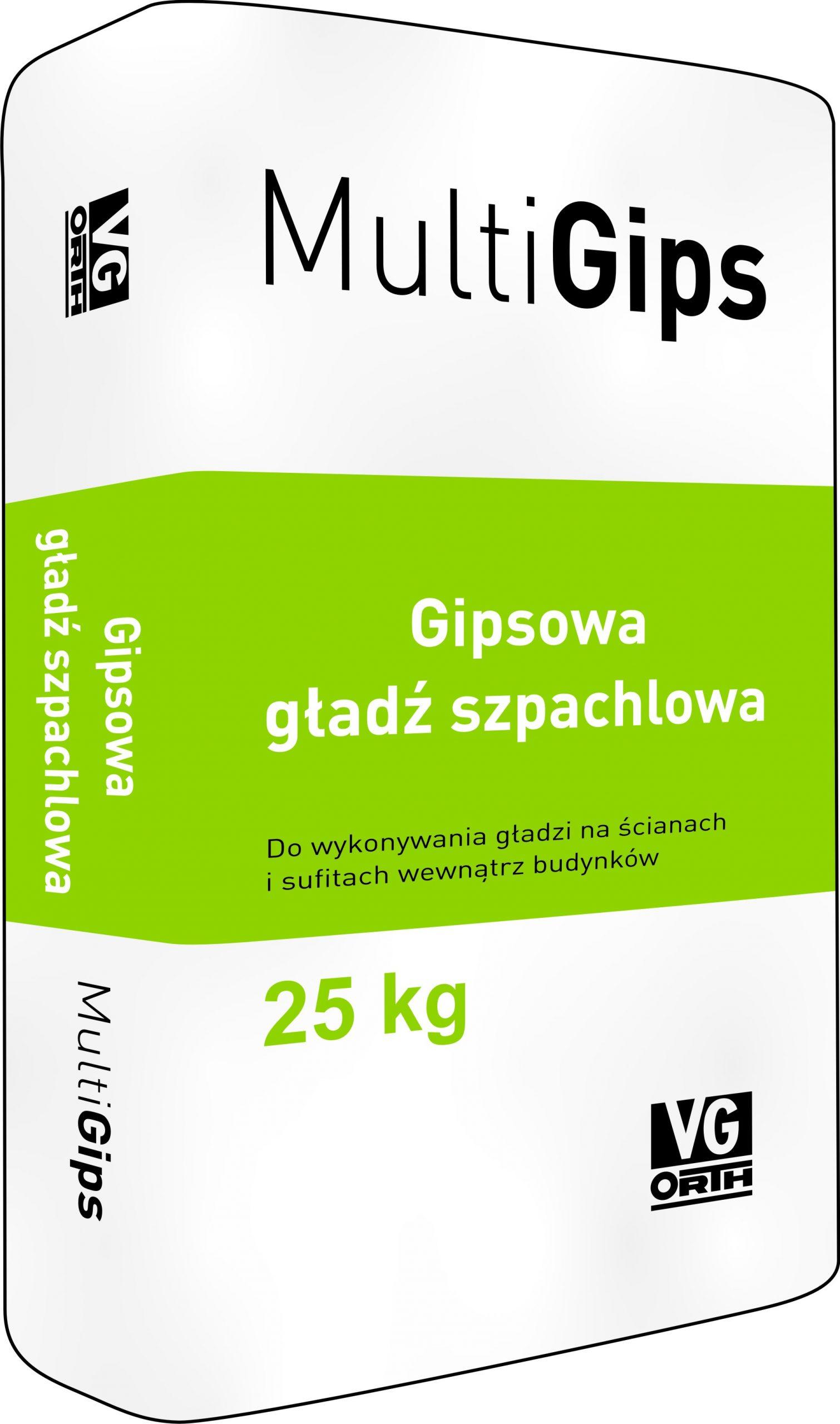 MultiGips Gipsowa gładź szpachlowa