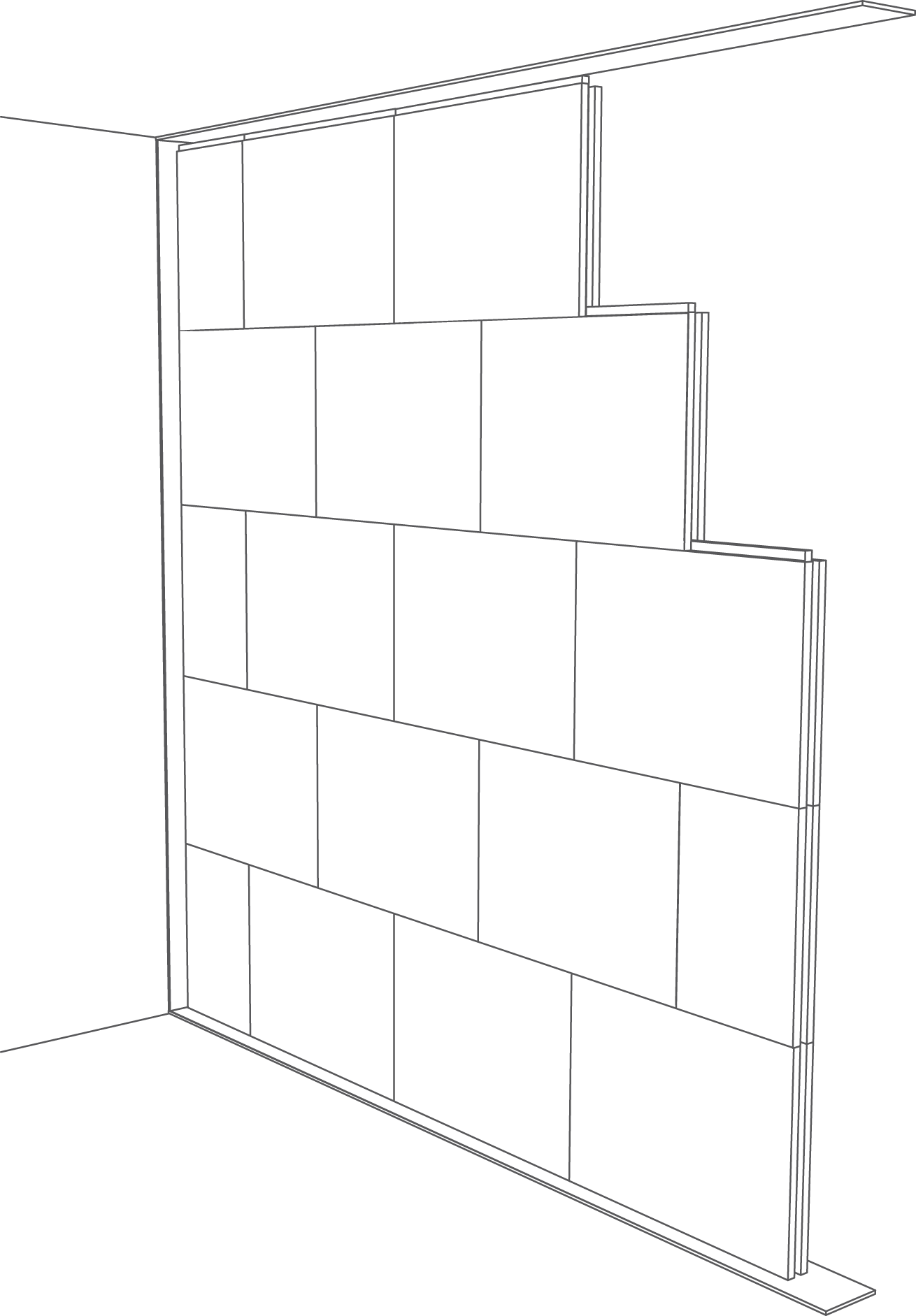 Ściany działowe